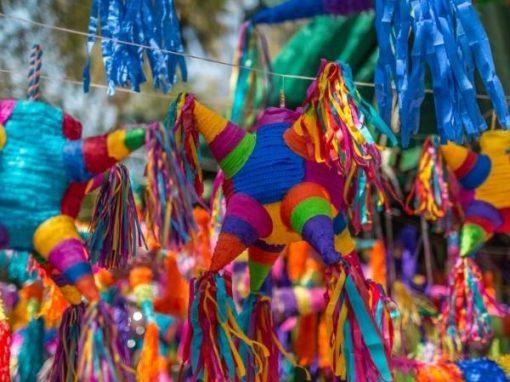 Piñatas de puntas