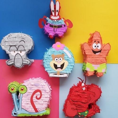 Bob Esponja piñatas minis