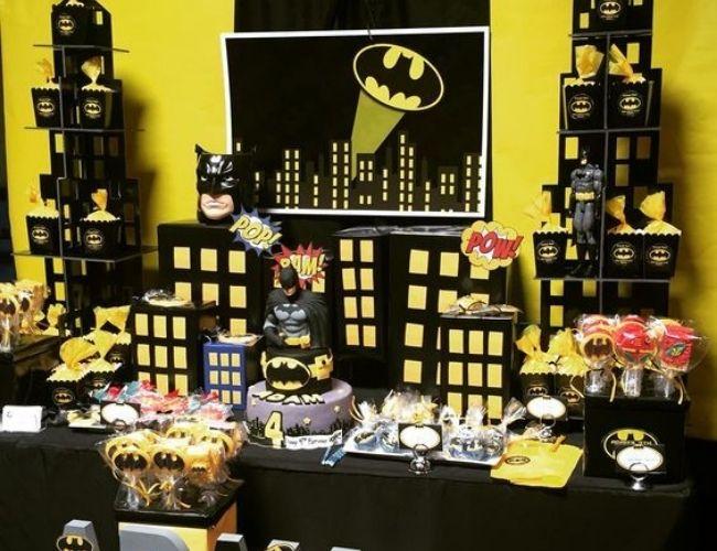 fiesta temática Batman