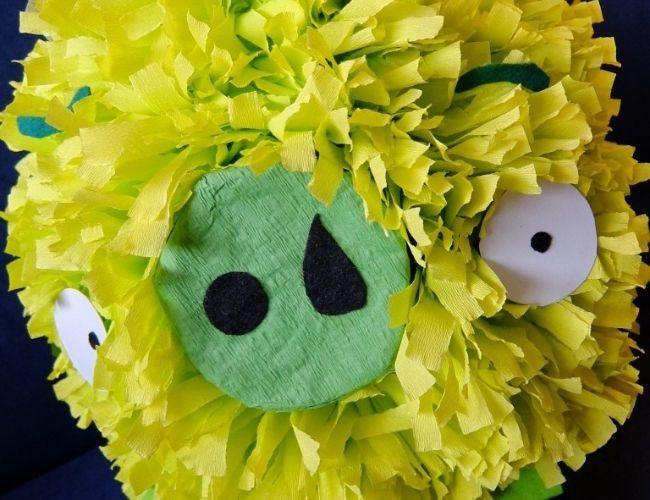 Piñatas de globo angry birds
