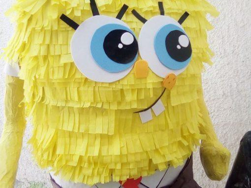 piñatas de bob esponja sentado