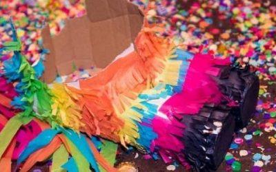 Piñatas de cartón portada