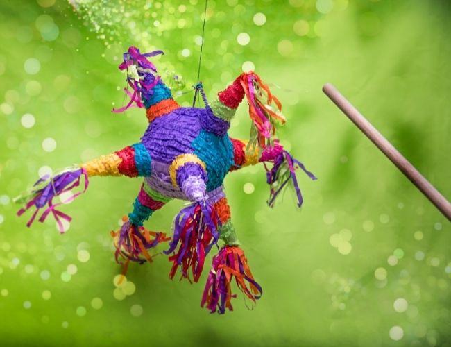 Piñatas de estrella