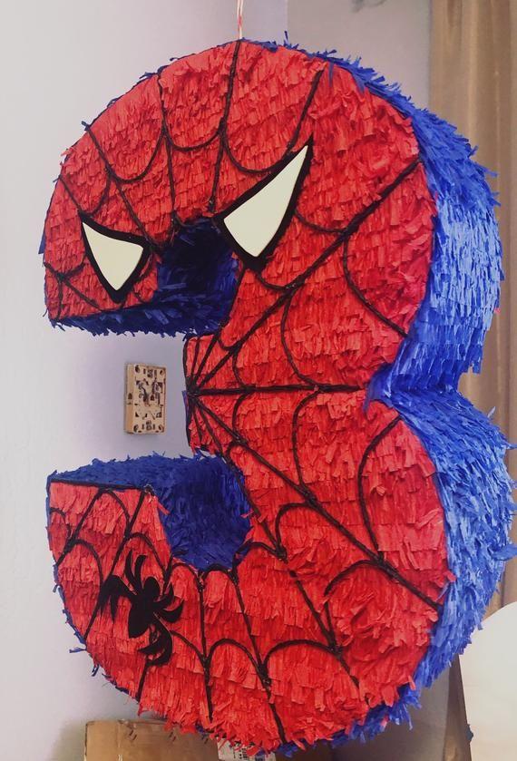 piñata de spiderman número 3