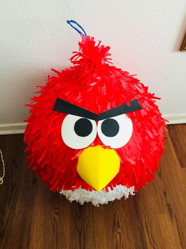 piñata globos angry birds