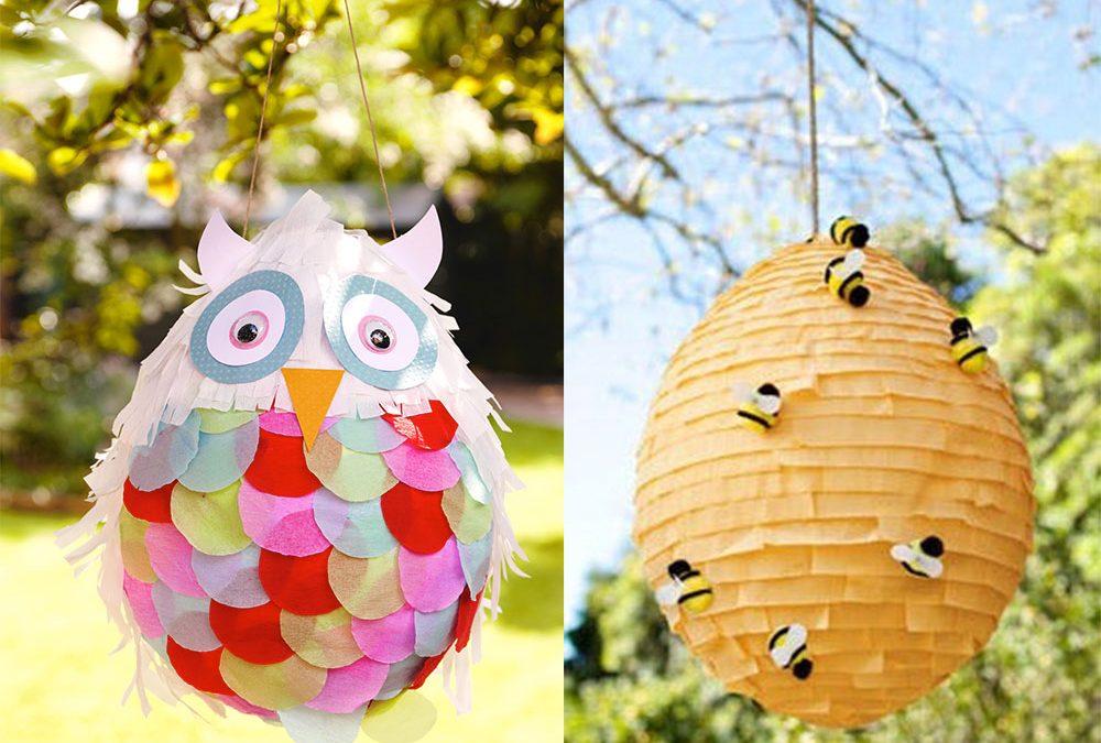 Piñatas con globos