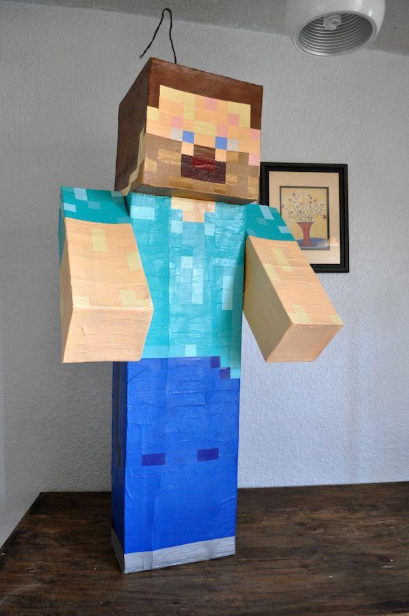 Piñata de Minecraft