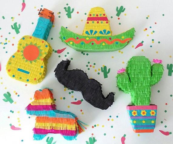 Piñatas minis