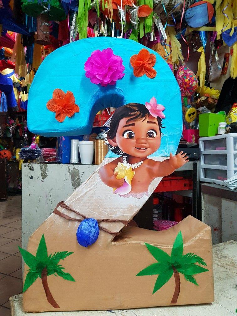 piñata moana números