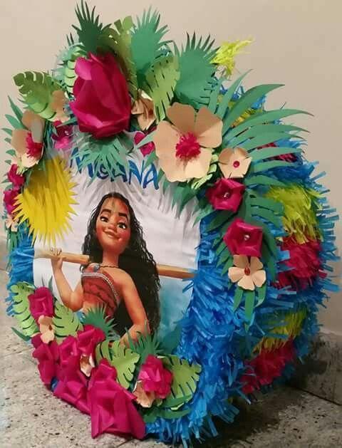 piñata moana flores