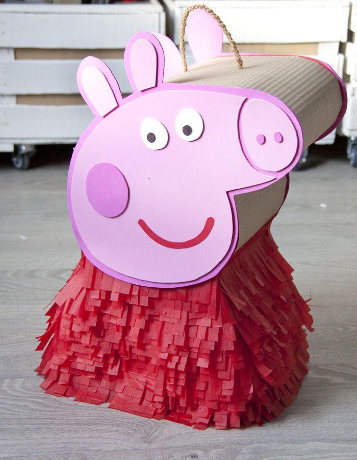 piñata peppa pig cuerpo