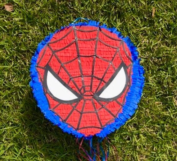 piñata spiderman redonda