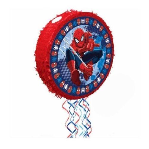 Piñata de tambor spiderman