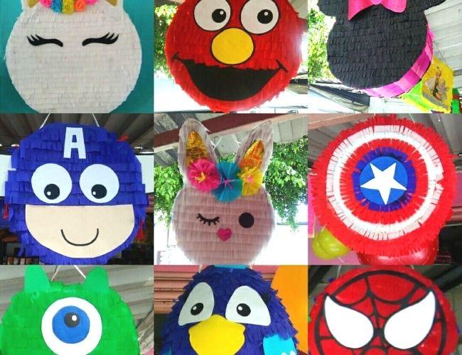 Piñatas de tambor diseños