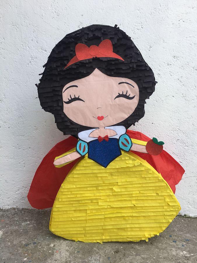 pinatas de princesas blancanieves