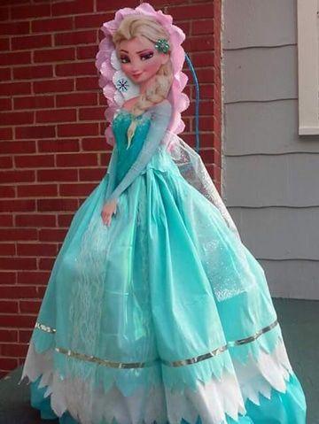 pinatas de princesas frozen