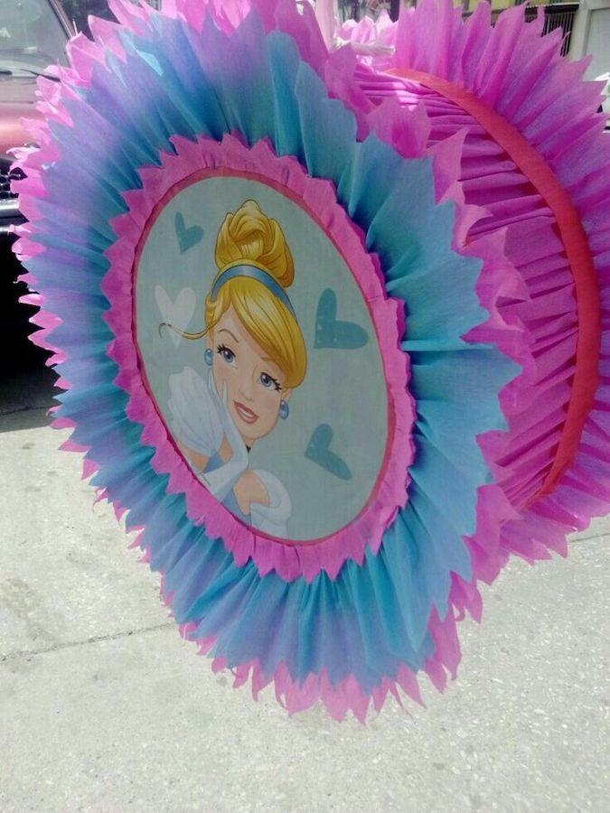 pinatas de princesas tambor