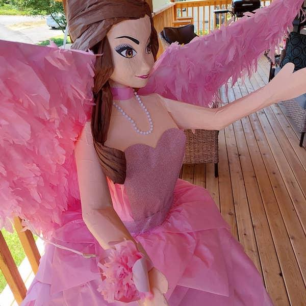 como hacer pinata de princesas disney