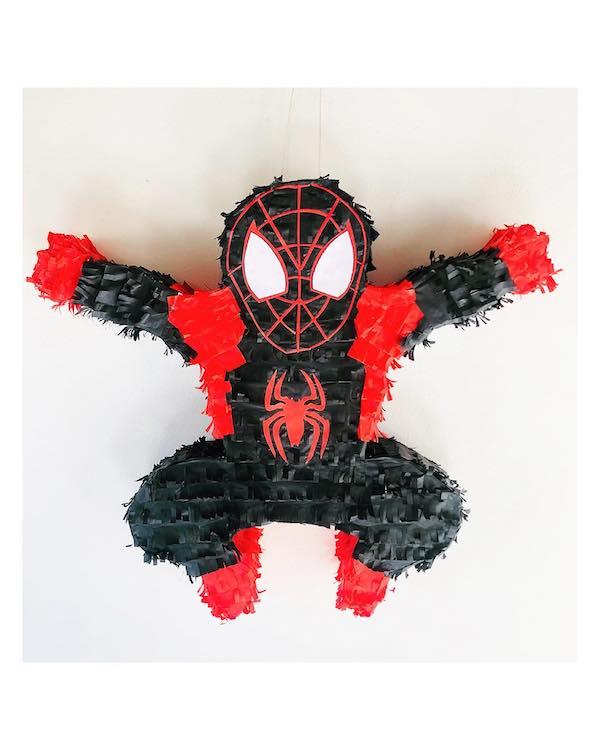 como hacer pinatas de spiderman paso a paso