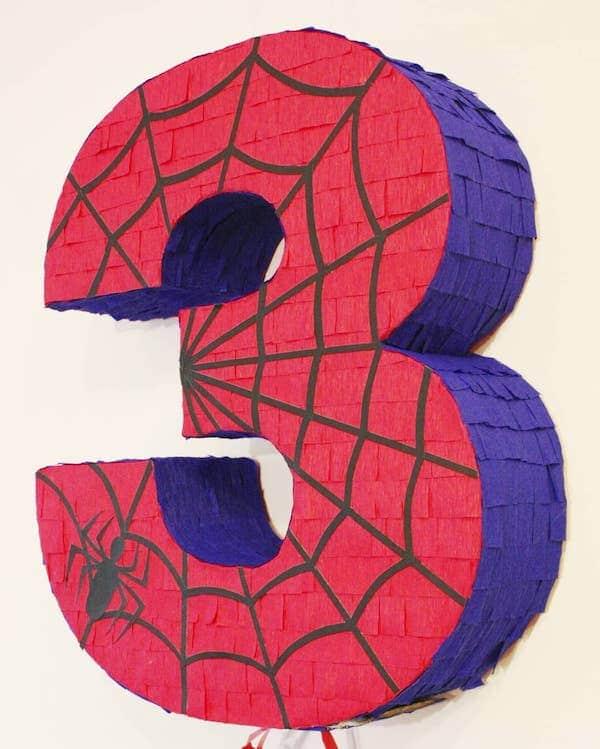 como hacer una pinata de spiderman con globo