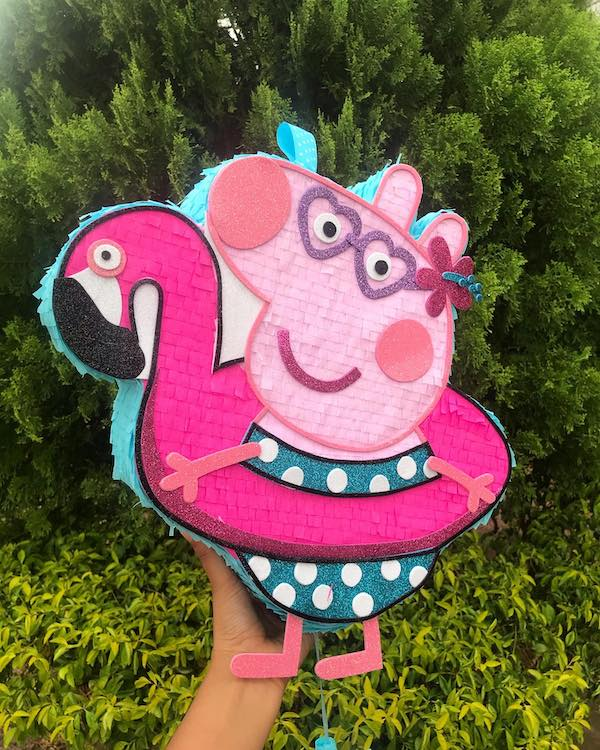 decoracion para fiesta de peppa pig