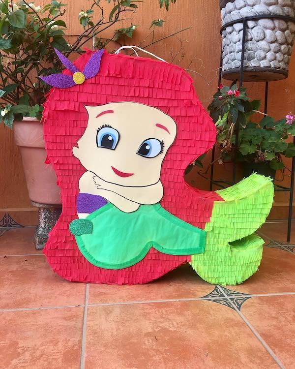 decoraciones para fiestas infantiles de sirenita