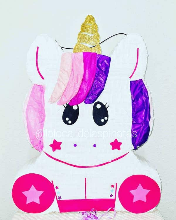 ideas de pinatas de unicornio