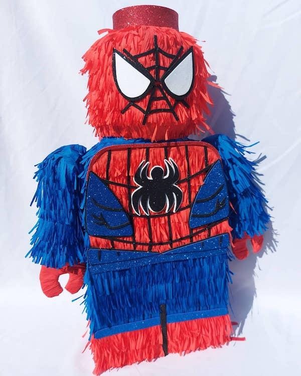 imagenes de pinatas de spiderman