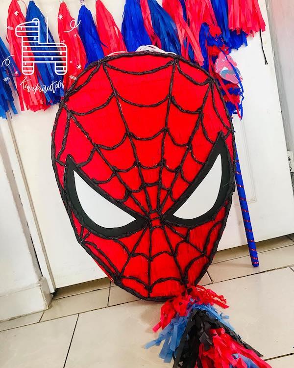 manualidades para fiestas infantiles de spiderman