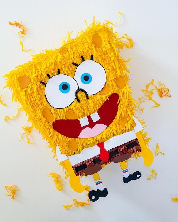 mini piñata de bob esponja