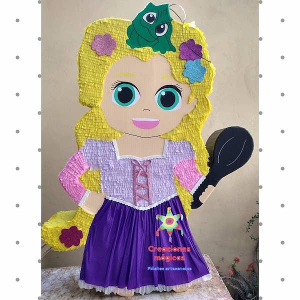 mini pinatas de princesas