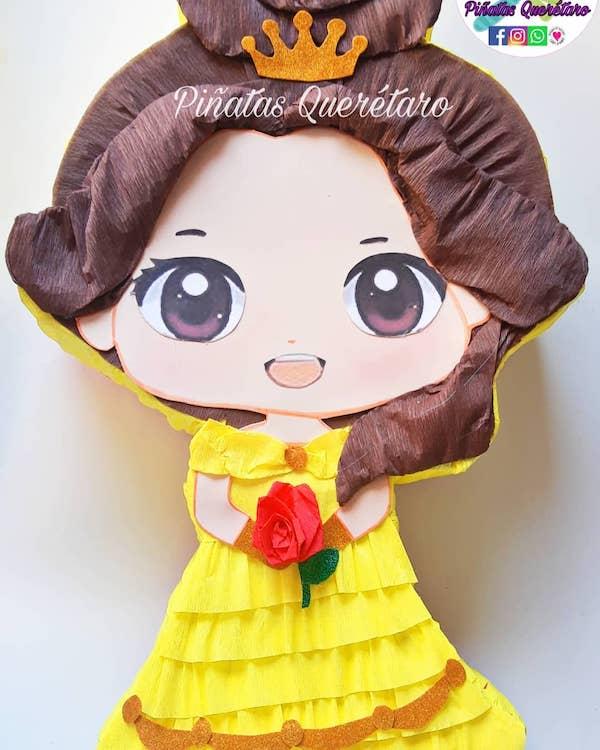 modelos de pinatas de princesas