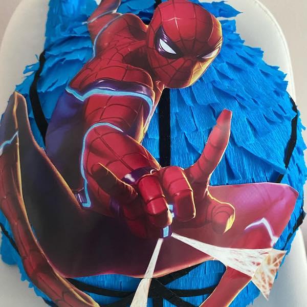 pinata de spiderman cuerpo completo