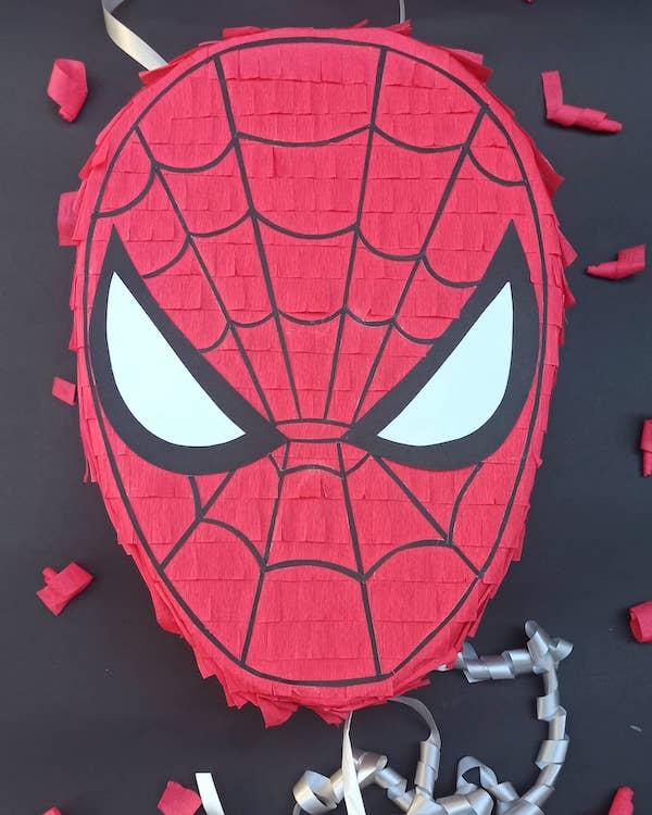 pinata spiderman bebe