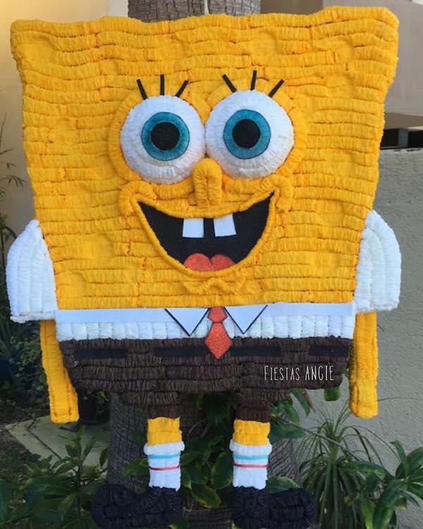 piñatas de bob esponja amazon