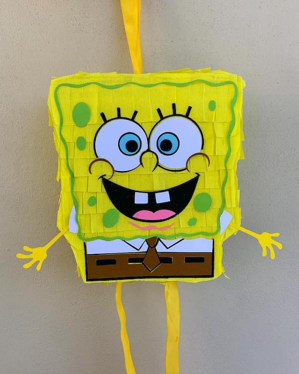 piñatas de bob esponja ideas