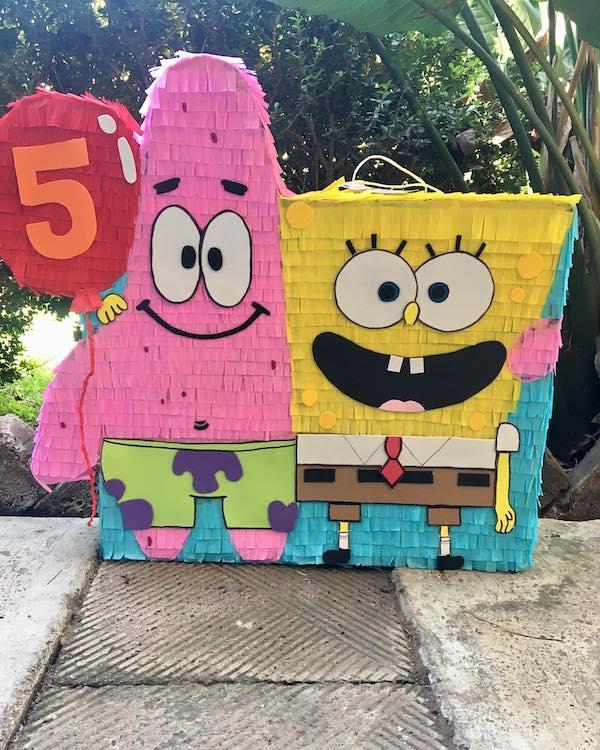 piñatas de bob esponja numero