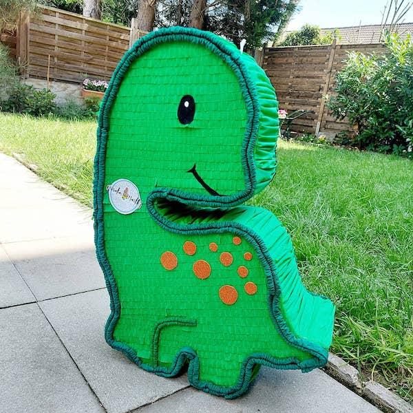 piñatas de carton de dinosaurios