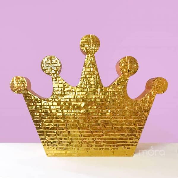 pinatas de coronas de princesas