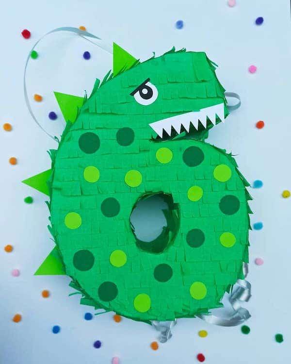 piñatas de dinosaurios numero 6