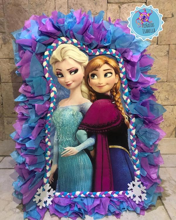 piñatas de frozen de anna