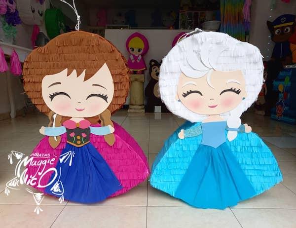 piñatas de frozen elsa y anna