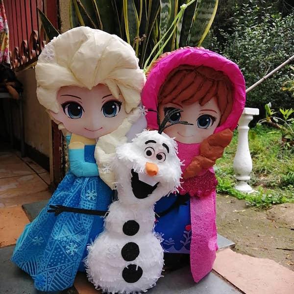 piñatas de frozen ideas