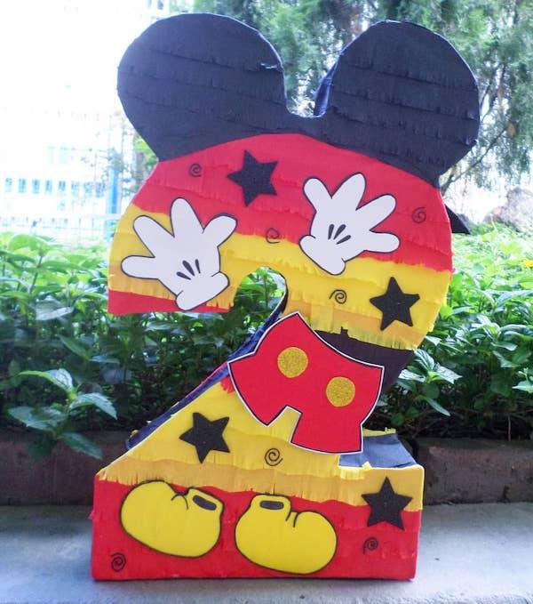 piñatas de la casa de mickey mouse