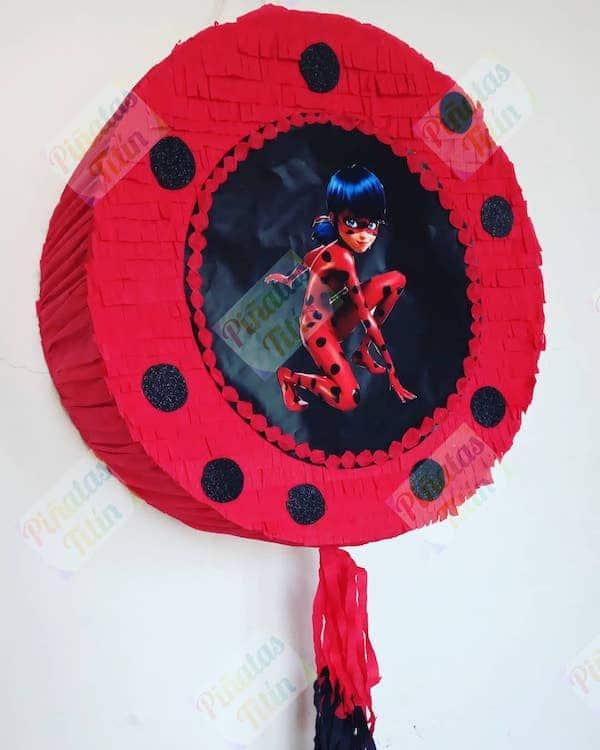 pinatas de ladybug para cumpleanos