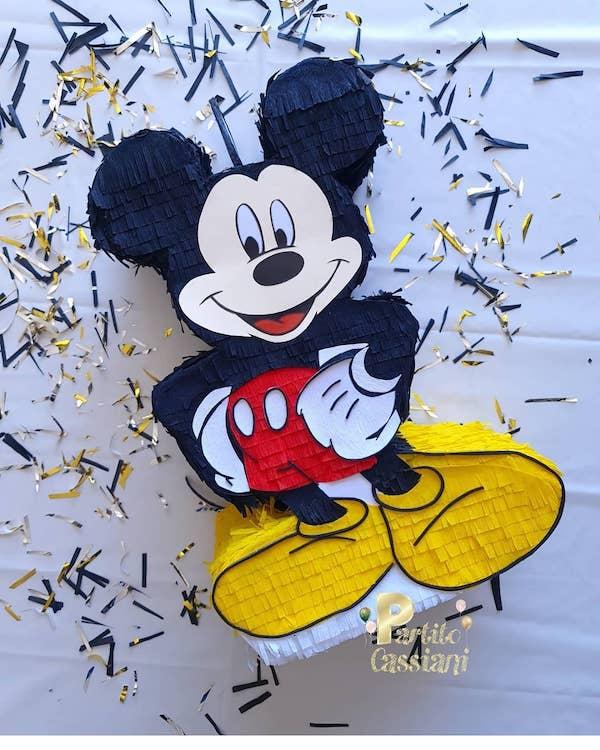 piñatas de mickey mouse arreglos