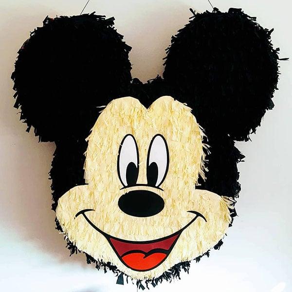 piñatas de mickey mouse cabeza