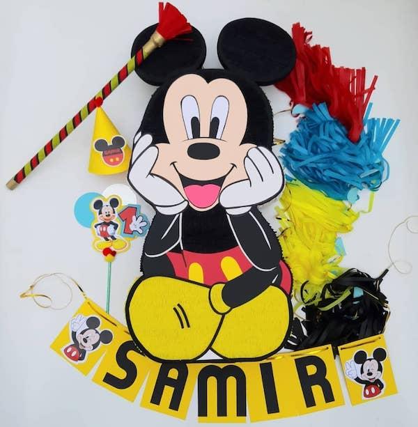 piñatas de mickey mouse manualidades