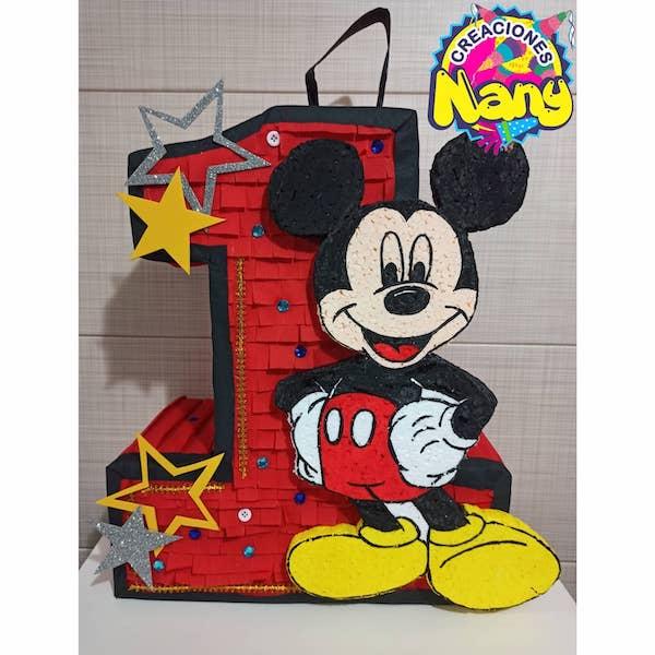 piñatas de mickey mouse numero 1