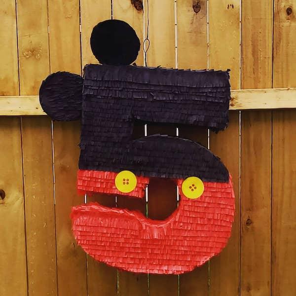 piñatas de mickey mouse numero 5
